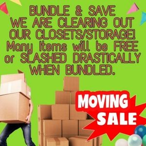 Moving Sale!!! Bundle up to save!!